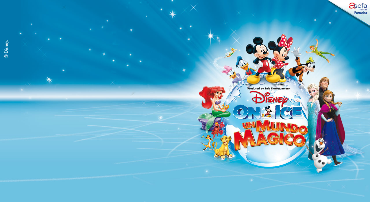 Disney On Ice - Un Mundo Mágico en Madrid (WiZink Center)